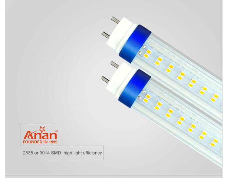 high power5ft led glass tube light