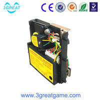 Intelligent coin acceptor with pc control for arcade machine parts