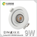 UGR adjust led downlight Ra92,CCT2000K-2800K,2700K,3000K,4000K