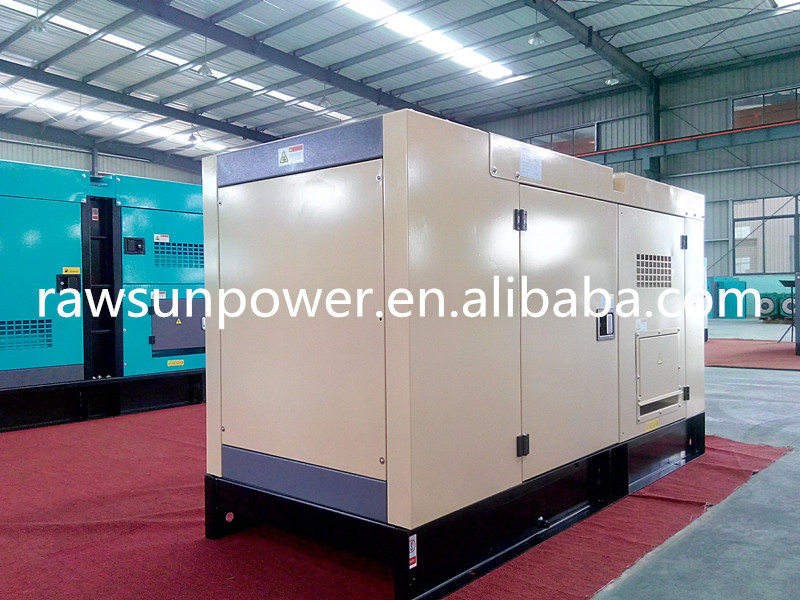 Soundproof Diesel Generator for hotel using