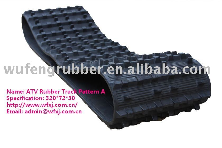 SUV rubber track jeep rubber track conversion system