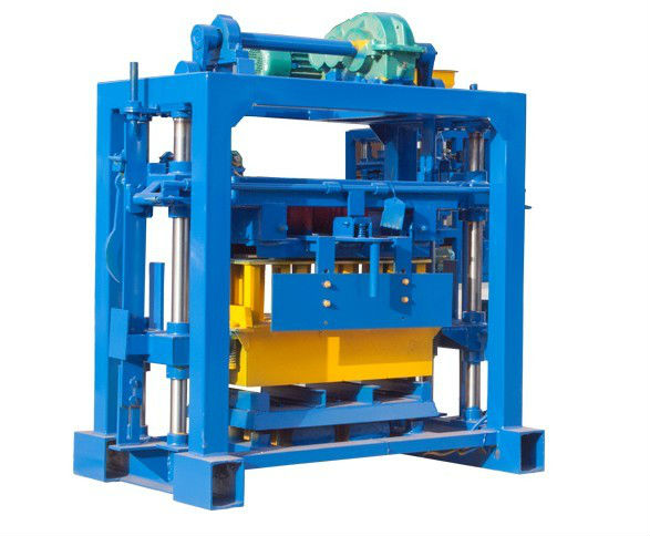 Popular QT40-2 manual hollow building block machine small investment
