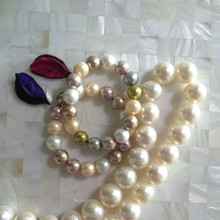 loose round Imitation pearl multicolor for bacelet pendant necklace
