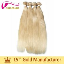 Classic brand XBL strong weft no shedding dark golden blonde hair color