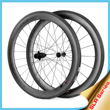Clincher Carbon 38/50/60/88mm Wheels Tubeless Compatible Design, 23/25mm Width Carbon Tubeless Bicycle Wheelset