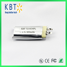 721634PL300 shenzhen rechargeable li-ion battery
