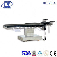 manual icu beds hospital furniture operating table for hair transplant FDA CE ISO