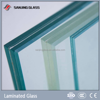 Weight of laminated glass