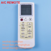 White 12 Keys English] new air conditioning remote control KE-109E universal air-conditioner remote control of foreign trade