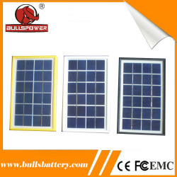 25years custom shaped 4w solar power polysilicon residential solar panels