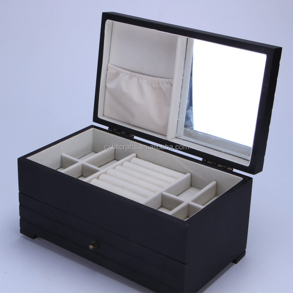 Wooden Display Jewelry Box Made In China Buy Custom