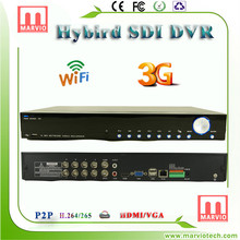 Marvio SDI 8007 Series DVR new product made in korea hvr CCTV surveillance manufacturer
