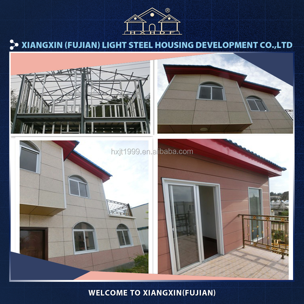 BV certification luxury prefabricated villa houses