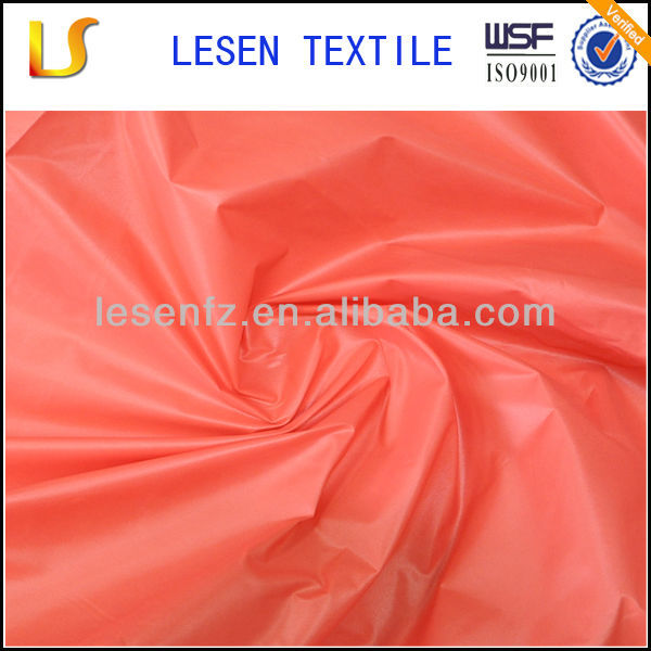 Lesen textile nylon waterproof fabric / nylon fabric roll / pvc coated nylon fabric