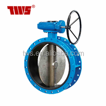 Large Size DN 1400-DN 2000 PN 16 Ductile Iron Double Flanged Concentric Butterfly Valve