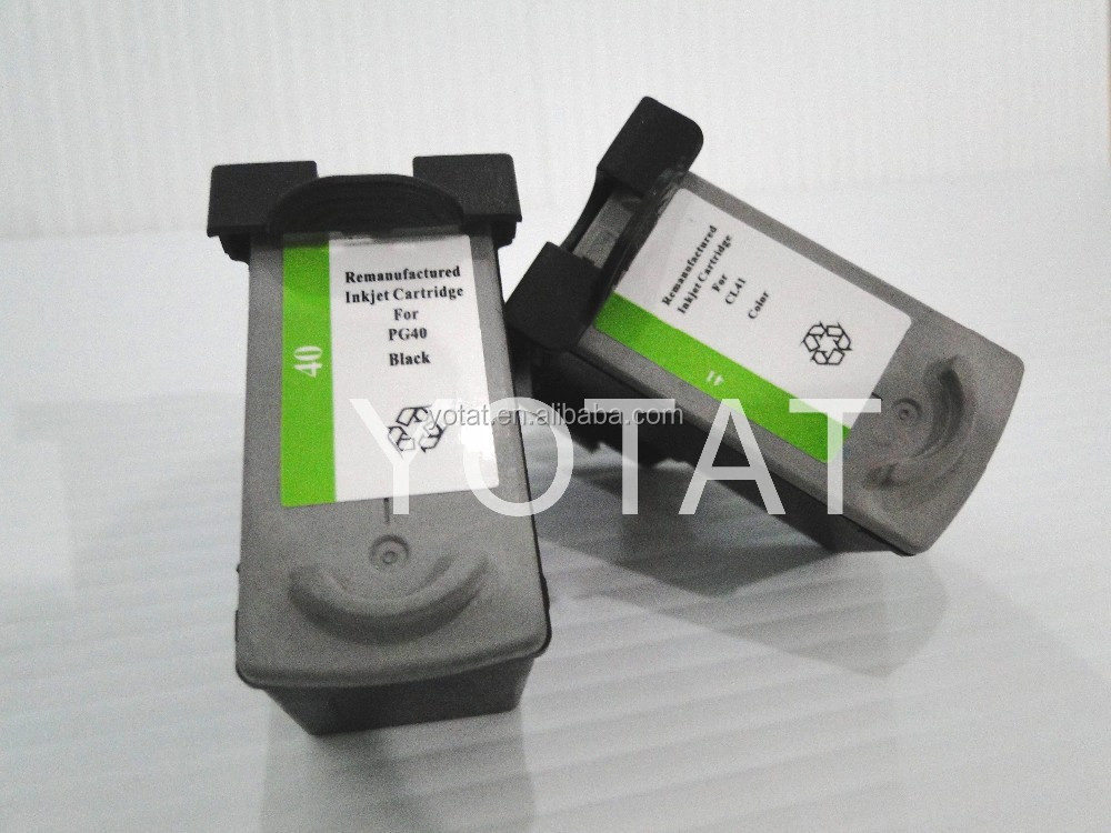 PG40 CL41 ink cartridges for canon pixma ip1880 with excellent quality