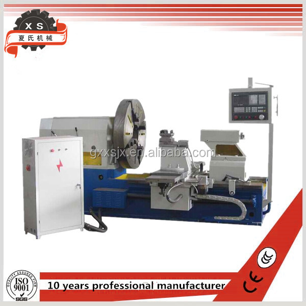 1250mm swing over bed,Extended horizontal CNC lathe machine for sale CK61125