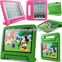 Childproof EVA tablets case for ipad air with stand for kids toddles and the young