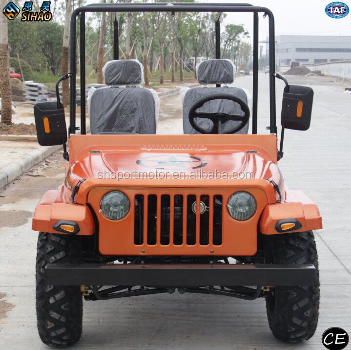 motorcycle manufacturer high-quality mini jeep utv 200cc for adult side by side jeep