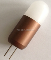 1.5W G4 led lamp 2pcs SMD3030 1200Lm DC/AC12V Size:14*45mm corn bulb
