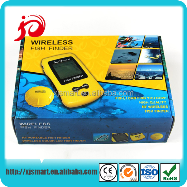 factory direct wireless object finder with black and white / color LCD display