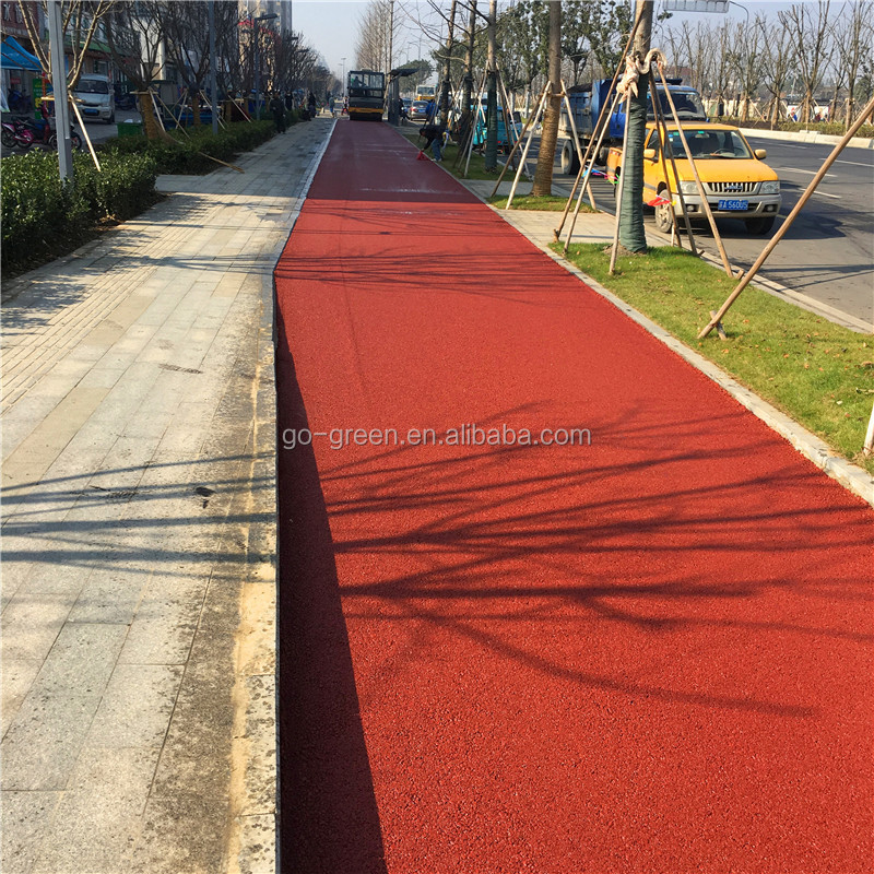 Colorless Asphalt Binder / Hot Mix Colored Asphalt Emulsion