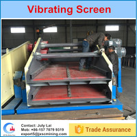 Big capacity shale shaker vibratory screen machine in chrome mining wash plant