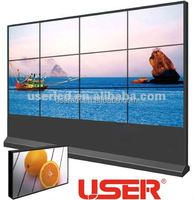 "46"" floor stand 3x3 5.3mm Samsung LCD panel led Video wall with Full HD 1920*1080 on sale"