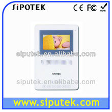 2012 hot sale color video 4.3 inch door phone monitor + good quality + lowest price