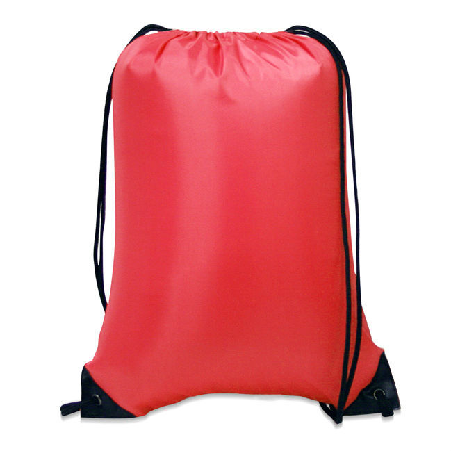 Personalized Nylon Drawstring Backpack