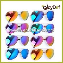 2014 classic metal sunglasses with nemon mirror sunglasses/metal sunglasses