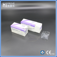 Disposable absorbable PGA polyglycolic acid surgical suture thread with needle with price