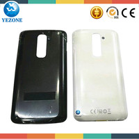 Black White 100% Original New Mobile Phone Housing Battery Door Replacement Back Cover For LG G2 D801 D802 D803 VS980