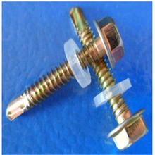 M4.2 hex washer screws, M3.5 bug phillips screws, self-drilling