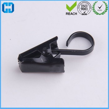 Black Cheap Stainless Steel Hook Clips for Curtain Drapery