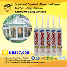 Universal Neutral Silicon Adhesive/Kitchen Using Silicone/Bathroom Using Silicone