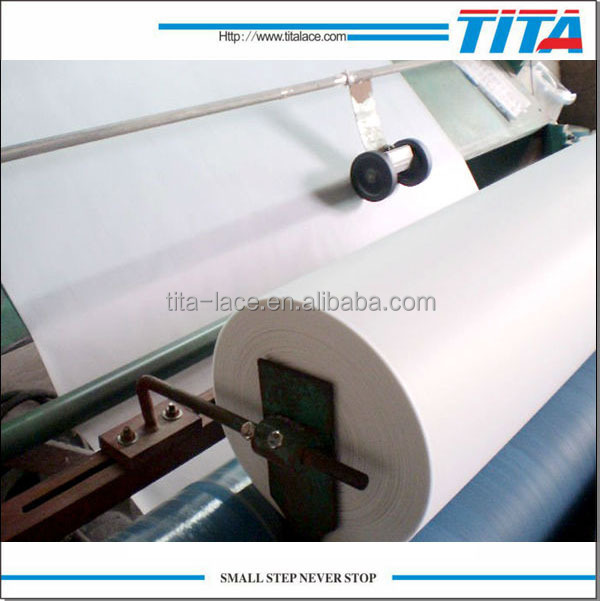 high quality hot water dissolving 90C embroidery backing paper,hot melting nonwoven fabric