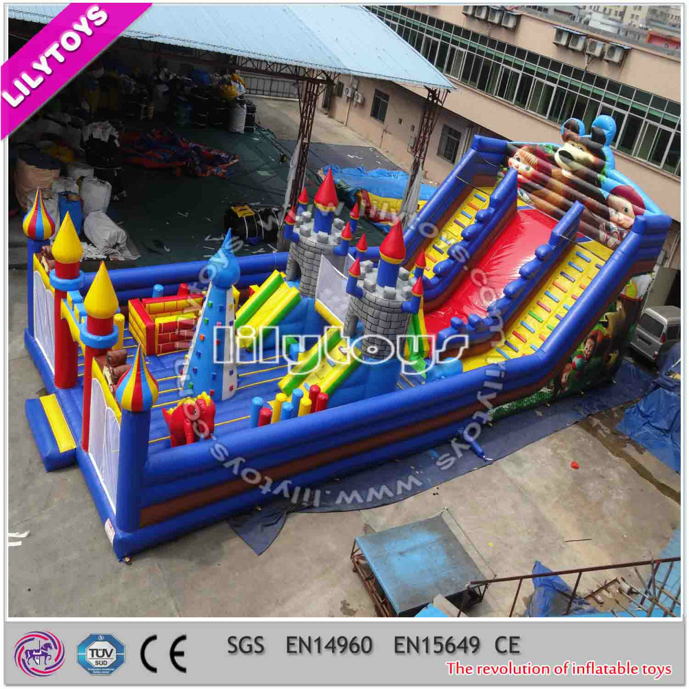 Commercial Inflatable funcity for kids/Inflatable amusement park/inflatable castle