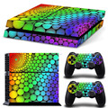 custom labels vinyl sticker for PS4 controller skin for PS4 console