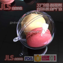High quality Dia 50MM round shape clear cake box