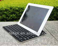 Best Selling Factory Price Aluminum Bluetooth Keyboard for Ipad 2 3 4 With iPad Holder