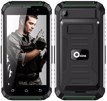 OEINA XP7710 unlocked 3G android Phone 5.0 inch 1GB 8GB MTK 6580 Quad Core Rugged 3G LTE Power Bank smart phone with LED torch