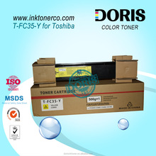 Yellow toner cartridge TFC35 T-FC35 for Toshiba e STUDIO 2500C 3500C 3510C copiers