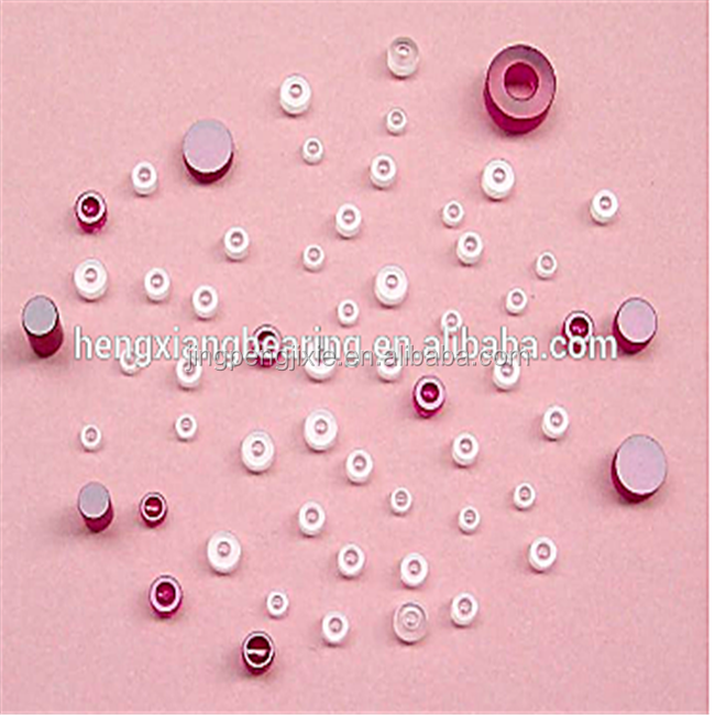 Hot sale Sapphire Jewel Bearing customized 2.54*1.25*1.3