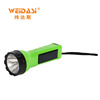 Personalized hand held solar rechargeable torch light led brand from Weidasi