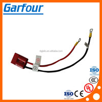 Factory OEM ODM car large current wire harness, big current cable with ring terminal