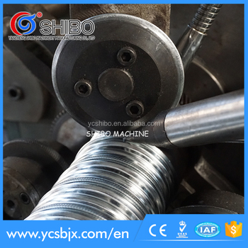 Post-Tension Spiral corrugated pipe making machine