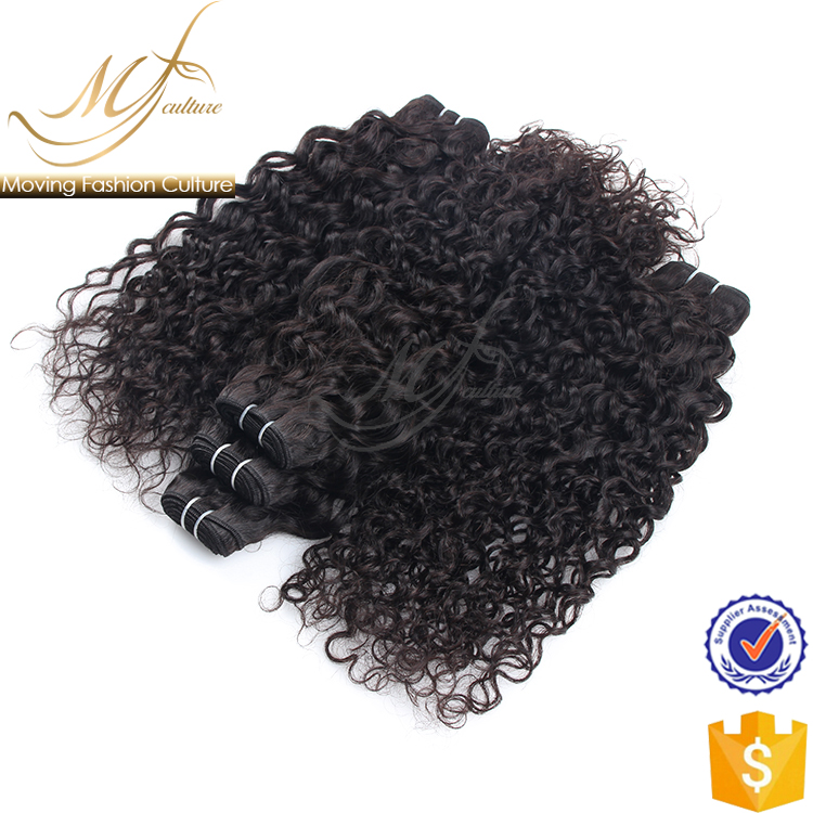 ODM manufacturers grey color loose curl in hair extension with quick shipping
