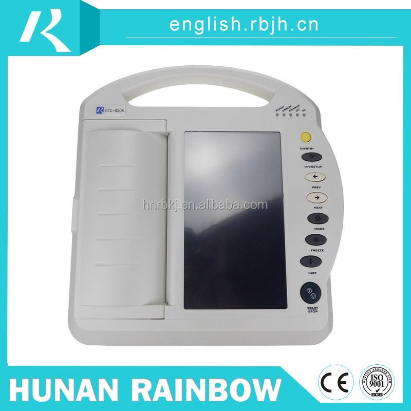 Chinese professional vet ecg/ekg machine