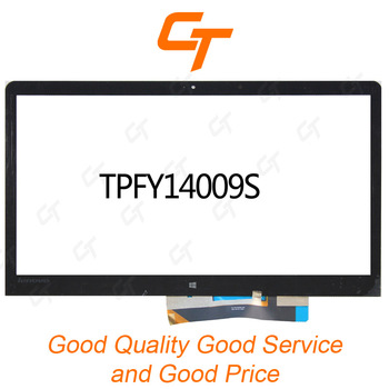 Hong Kong wholesale price touch lcd front glass panel TPFY14009S